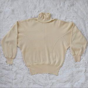 Escada Margaretha Ley Vintage 1980s Wool Sweater